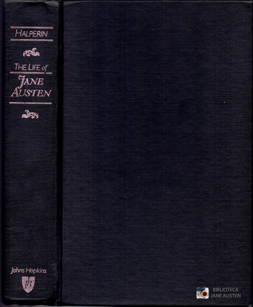 The Life of Jane Austen, John Halperin