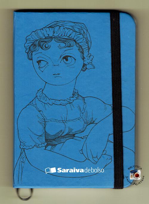 Caderneta Jane Austen Saraiva