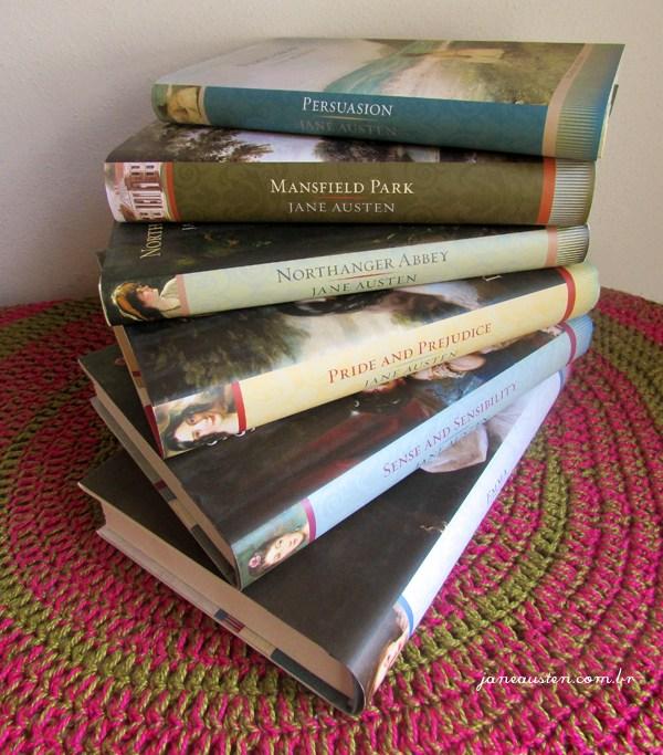 Jane Austen coleção Signature Editions com jaquetas