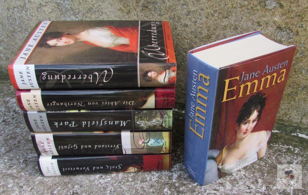 Coleção Anaconda Jane Austen